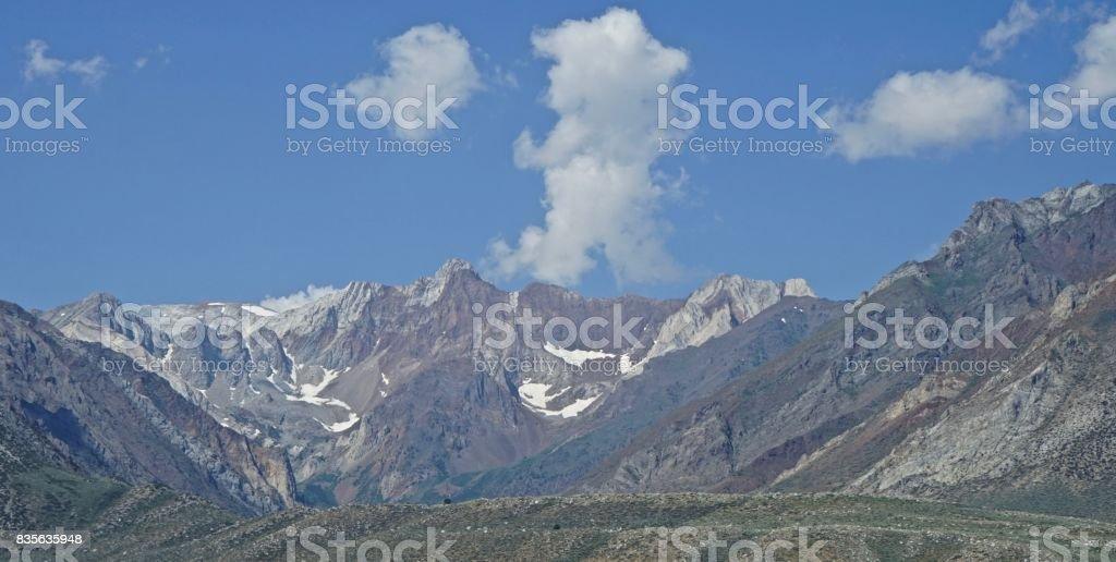 High Sierra Rock stock photo