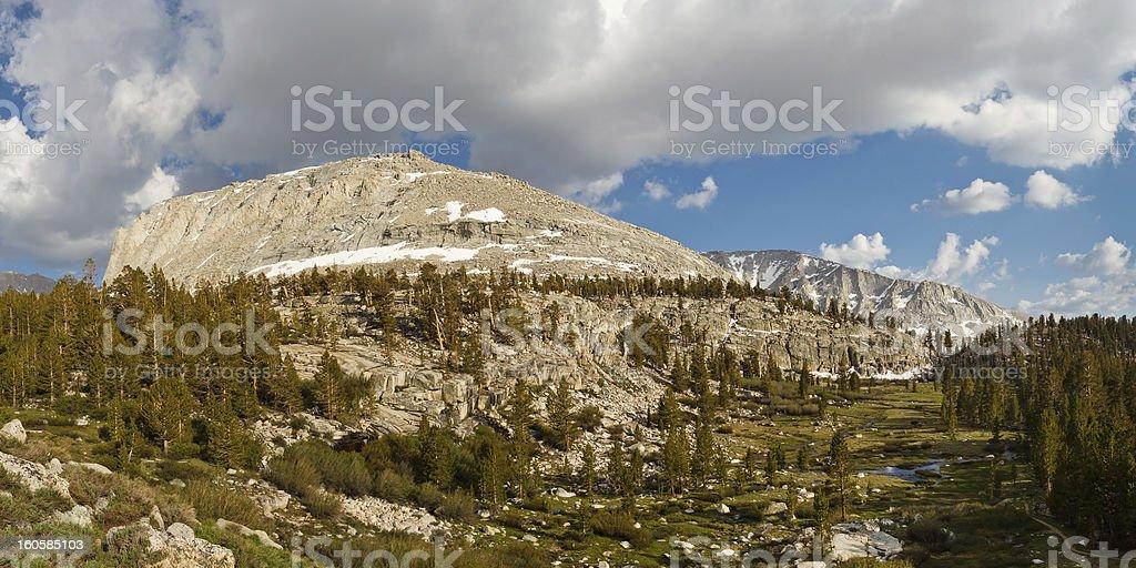 High Sierra Scenery royalty-free stock photo