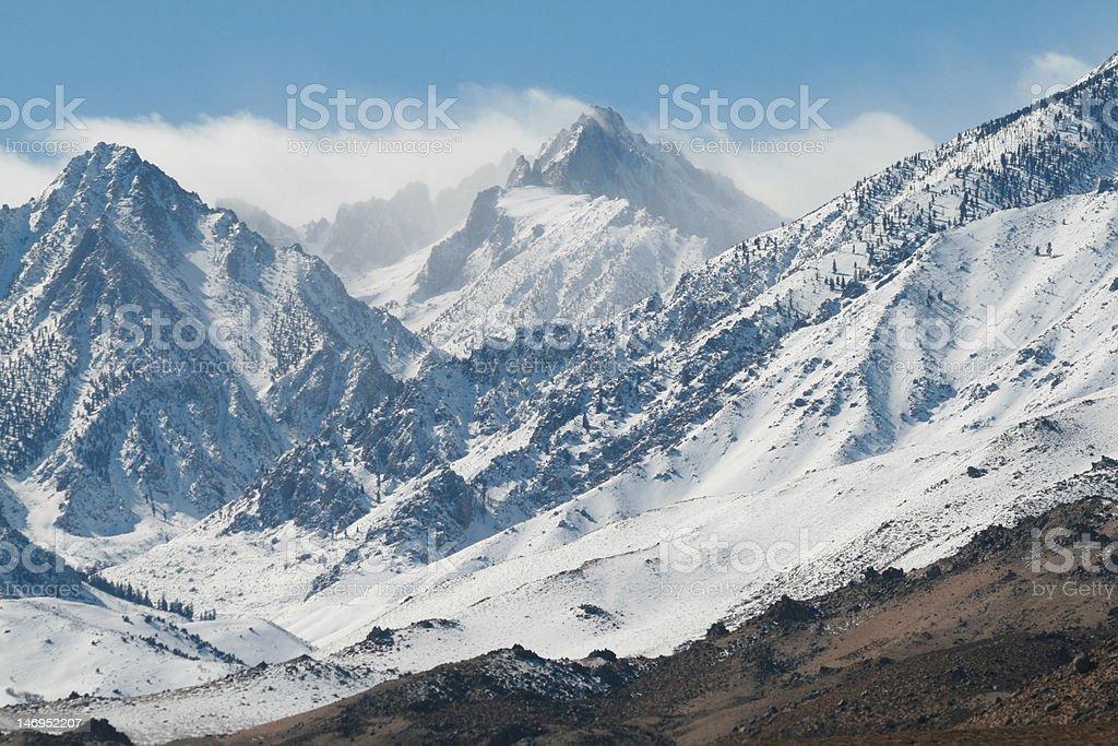 High Sierra Storm stock photo
