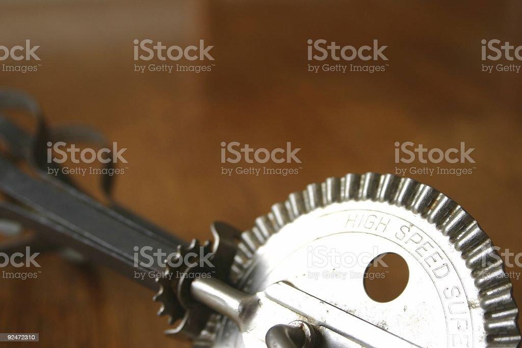 high speed hand mixer royalty-free stock photo