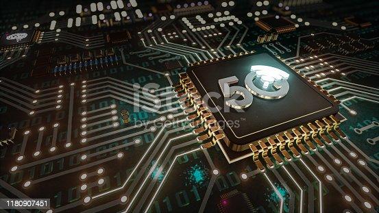istock 5G High speed internet network communication 1180907451
