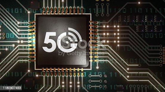 istock 5G High speed internet network communication 1180907453