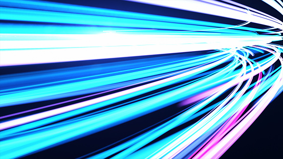 1089201306 istock photo High Speed lights Tunnel motion trails 1088851852
