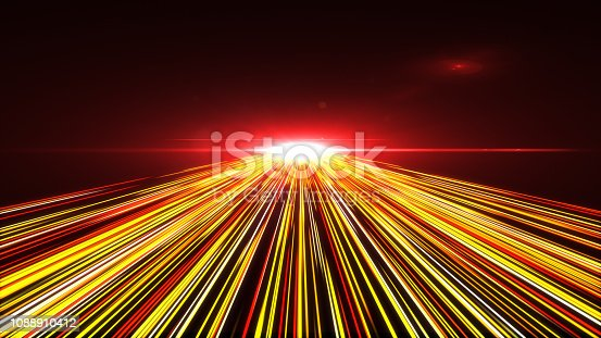 1089201306 istock photo High Speed lights Tunnel motion trails 1088910412