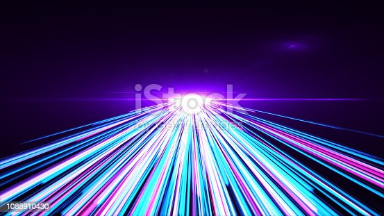 1089201306 istock photo High Speed lights Tunnel motion trails 1088910430