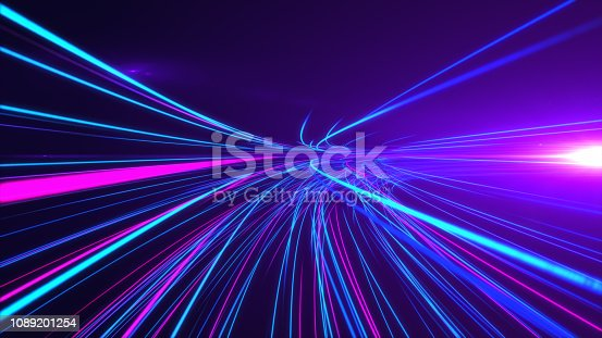 1089201306 istock photo High Speed lights Tunnel motion trails 1089201254