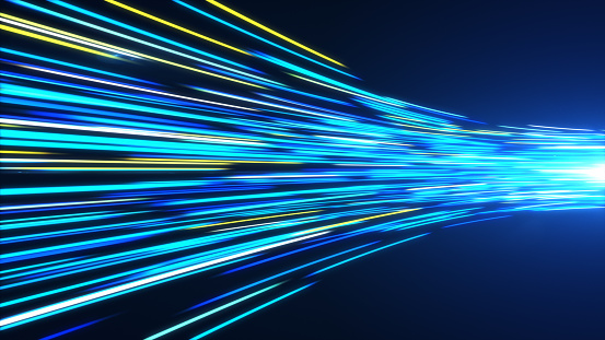 1089201306 istock photo High Speed lights Tunnel motion trails 1089201322