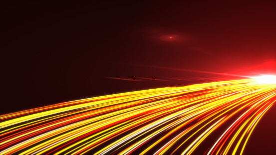 1089201306 istock photo High Speed lights Tunnel motion trails 1089231250