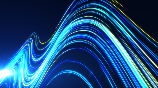 1089201306 istock photo High Speed lights Tunnel motion trails 1089231542