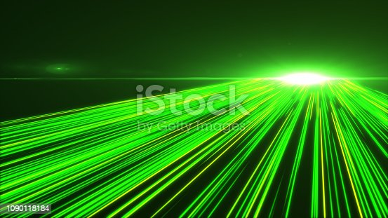 1089201306 istock photo High Speed lights Tunnel motion trails 1090118184