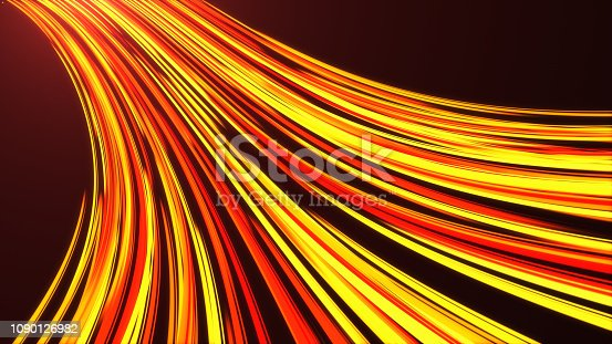 1089201306 istock photo High Speed lights Tunnel motion trails 1090126982