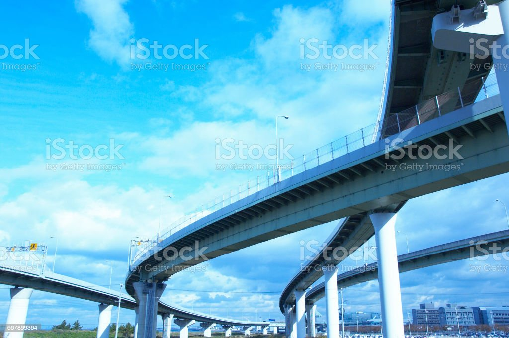 High speed road royalty-free stock photo