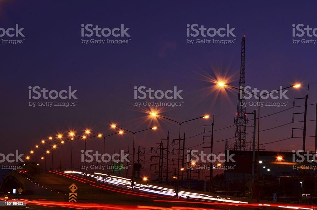 High speed traffic stock photo