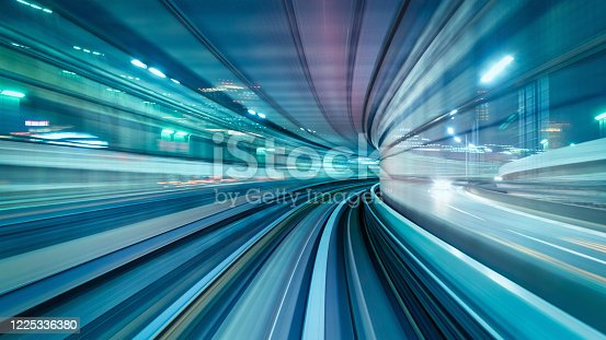istock High Speed Train Abstract Panorama Tokyo Japan 1225336380