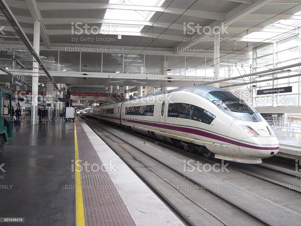Internet de alta velocidad en la estación de tren Atocha - foto de stock