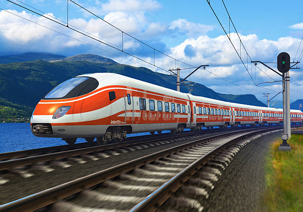High speed train See also: bullet train stock pictures, royalty-free photos & images