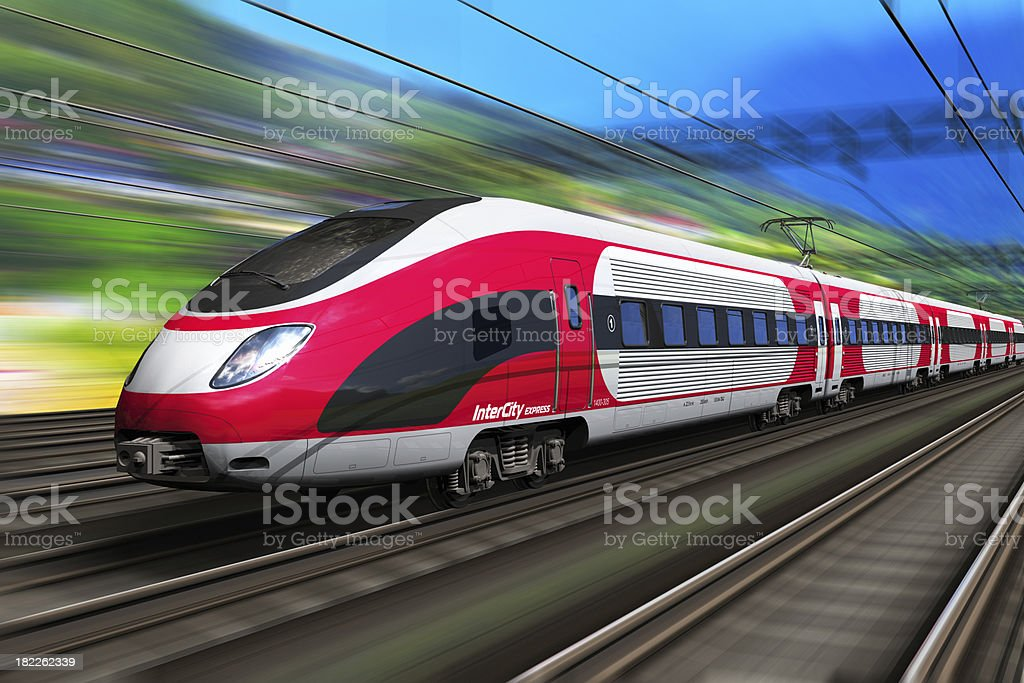 High speed train – Foto