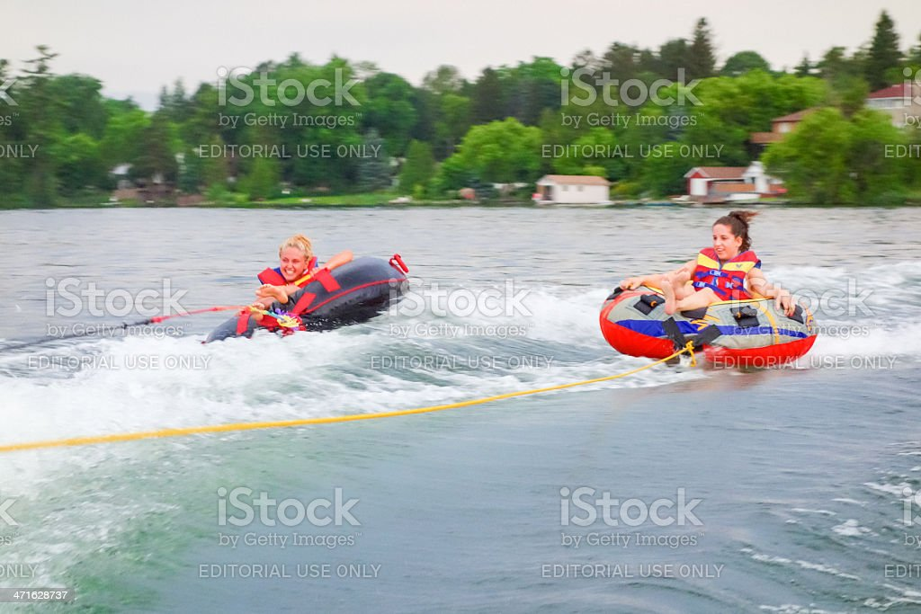 High Speed Water Tubing royalty-free stock photo