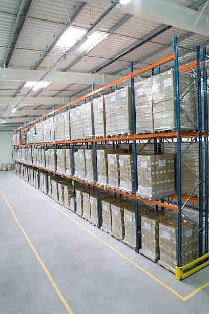 Hohe Stauraum rack warehouse – Foto