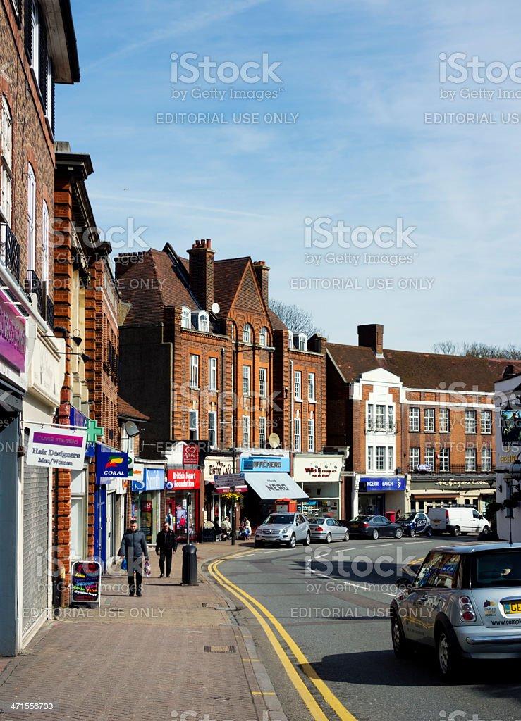 High Street, Beckenham, Kent royalty-free stock photo