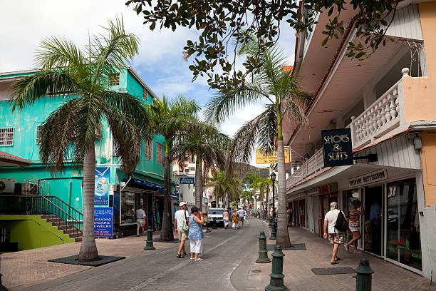 Der High street, Karibik – Foto