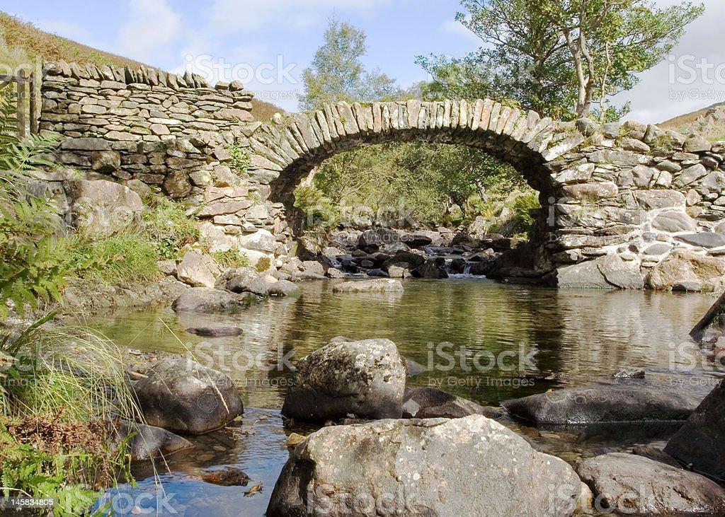 High Sweden Bridge stock photo