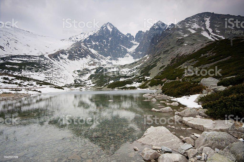 High Tatras royalty-free stock photo