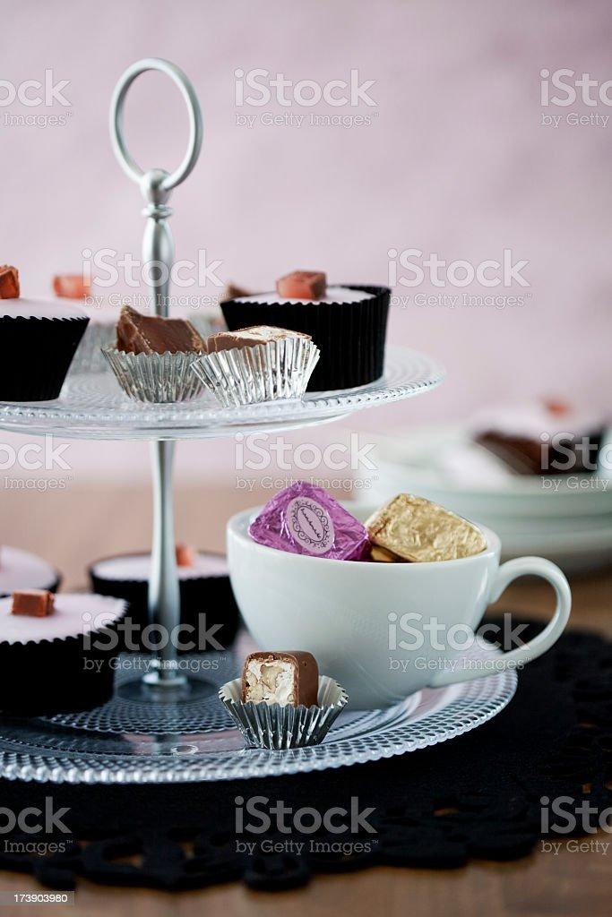 High Tea royalty-free stock photo