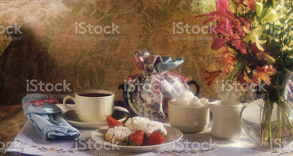 High Tea royalty-free stock photo