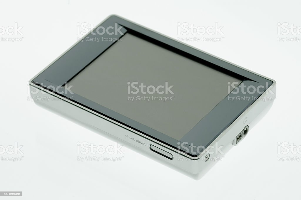 High Tech Toys - MP3 Player 2 royalty-free stock photo