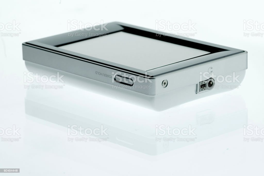 High Tech Toys - MP3 Player stock photo