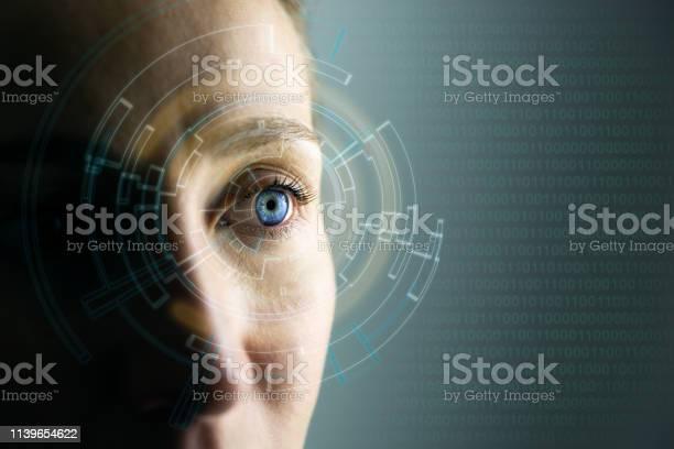 High technologies in the future young womans eye and hightech concept picture id1139654622?b=1&k=6&m=1139654622&s=612x612&h=sxc1 2mxwodzi sza1vl0pext7qkck4uwbhhjlgrfvq=