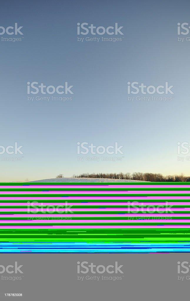 High technology audio processor royalty-free stock photo
