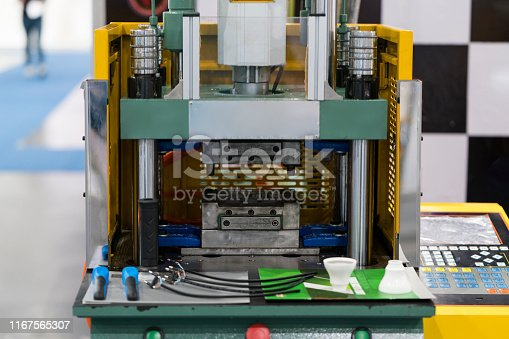 istock High technology Plastic cup manufacturing industrial 1167565307
