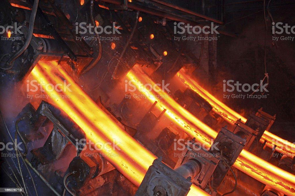 Hohe Temperatur steel ingots – Foto