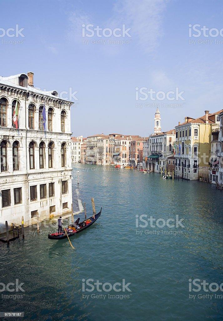 High tide in Venezia. royalty-free stock photo