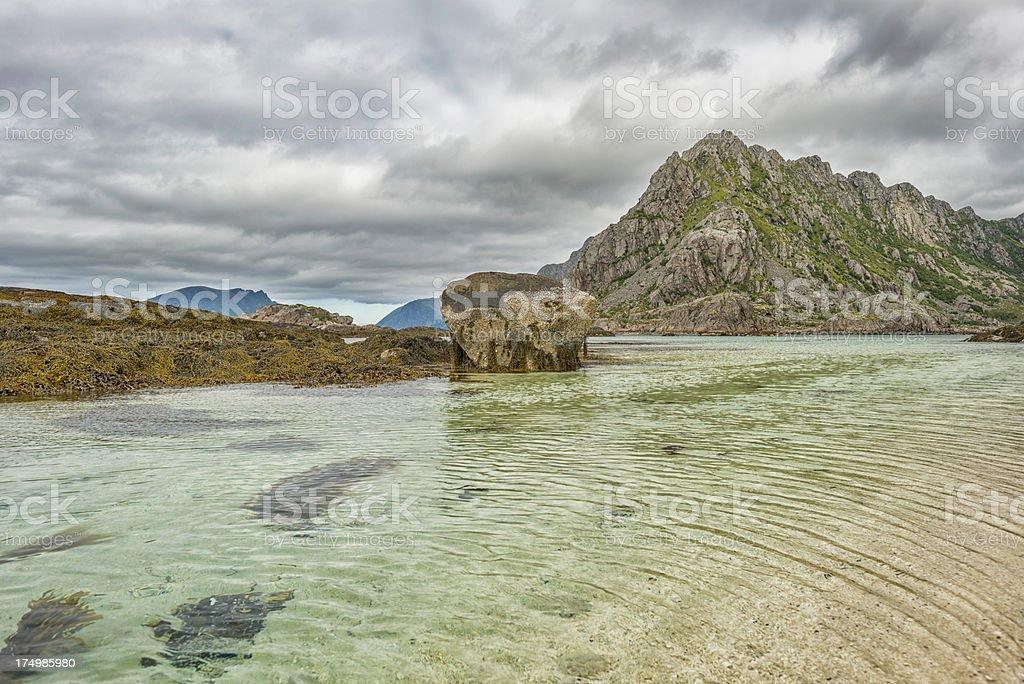 High Tide stock photo