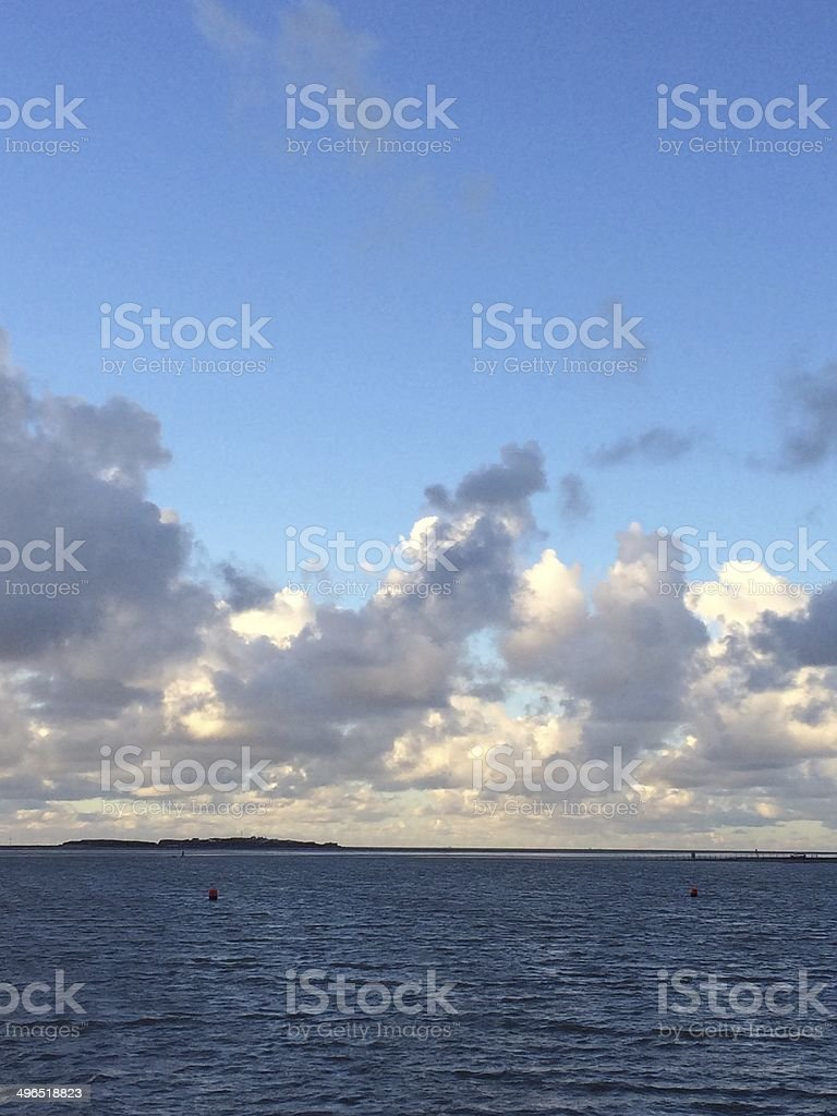 High Tide royalty-free stock photo