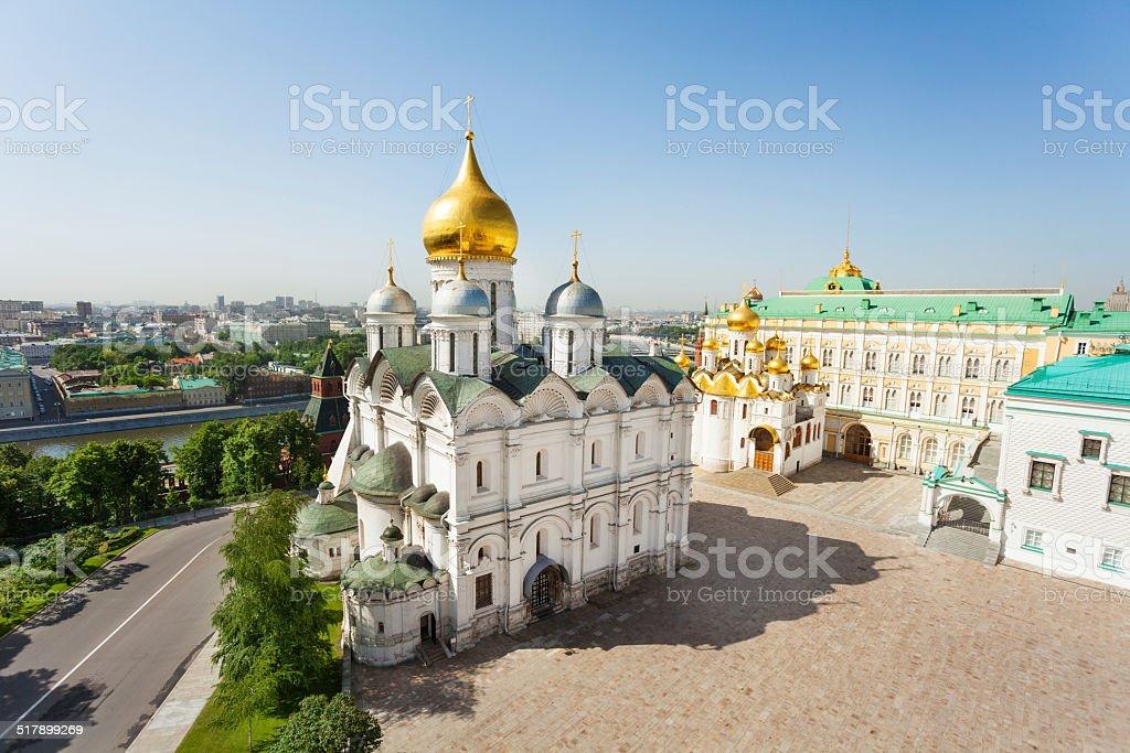 High view Church of the Twelve Apostles stock photo
