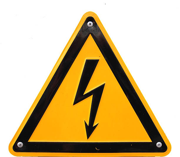 High Voltage High voltage sign in Germany. high voltage sign stock pictures, royalty-free photos & images
