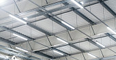istock high warehouse - indoor LED lighting 1289224006