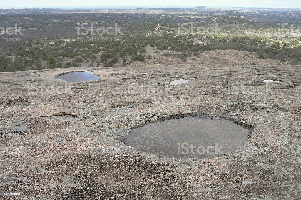 High Water Hole royalty-free stock photo