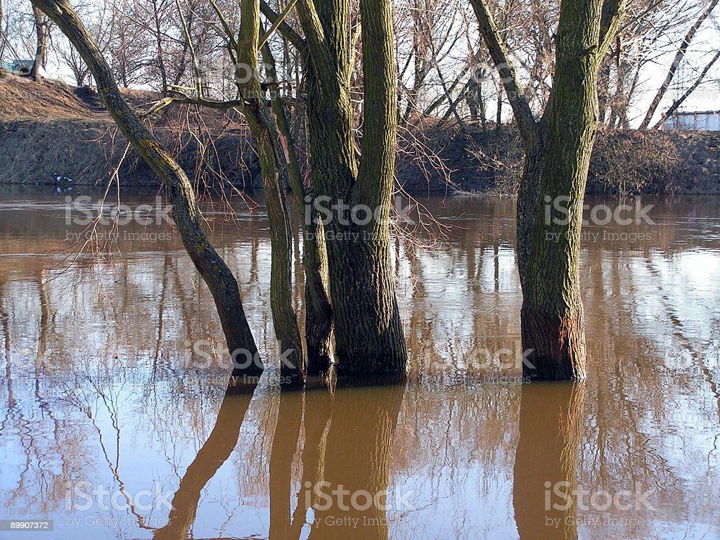 Acceso de agua foto de stock libre de derechos