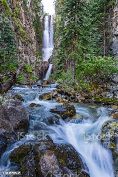 Photo of High Waterfall in Colorado