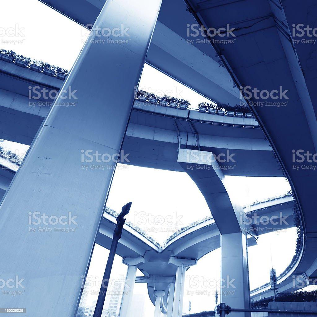 high way bridge royalty-free stock photo