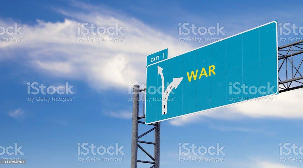 Signo De Alta Manera Con Motivación Advertencia O Mensaje De