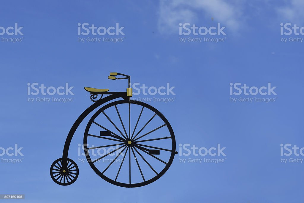 High Wheeler stock photo