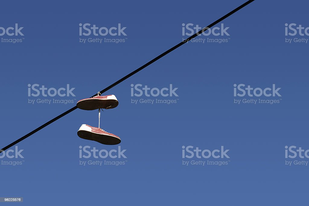 High Wire Act royalty-free stock photo