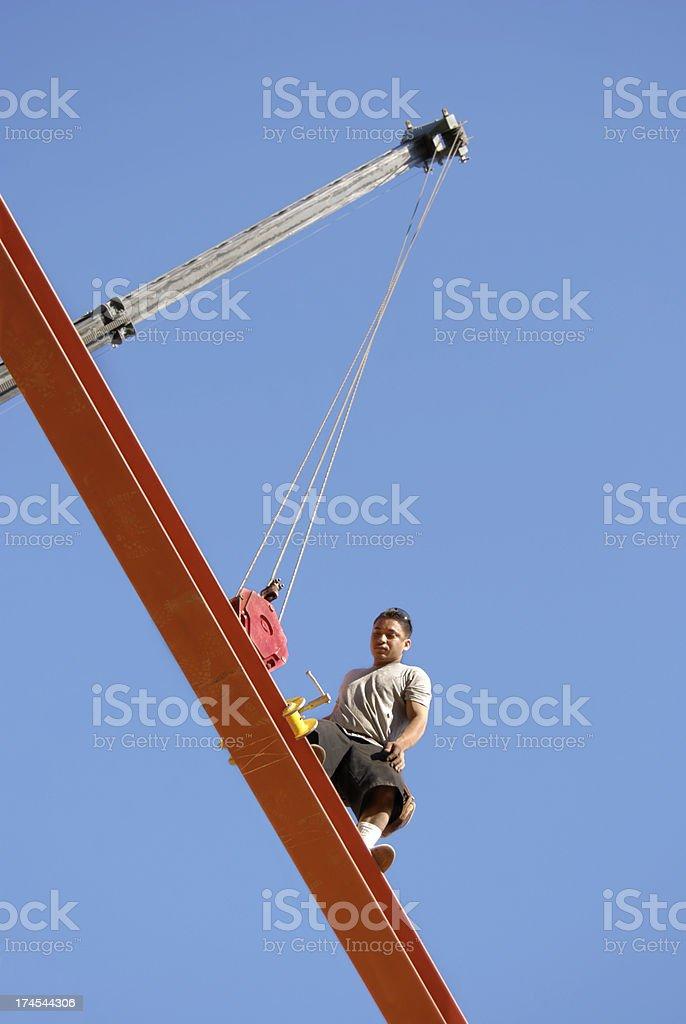 High work stock photo