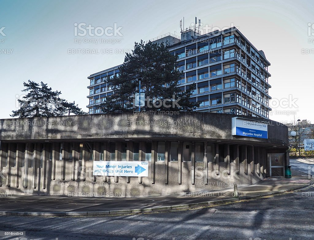 High Wycombe General Hospital stock photo
